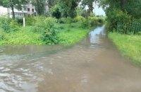 ГосЧС объявила штормовое предупреждение в связи с паводком в Черновцах