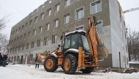 Здание на Амосова, 5 по состоянию на 15.01.13