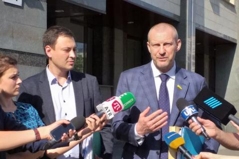 """""""Народний фронт"""" представив Конституційному Суду докази існування коаліції"""