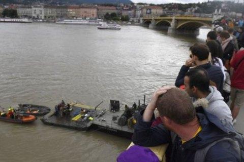Водолазы обнаружили тела еще 4 туристов, погибших при крушении катера в Будапеште