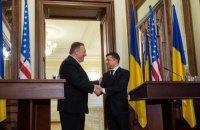 Зеленский обсудил с Помпео возможность визита в Вашингтон