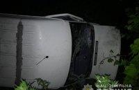 На трасі Київ-Чоп у Житомирській області перекинулася маршрутка, 7 травмованих