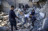 35 людей загинули в результаті авіаударів по зайнятому повстанцями району Сирії