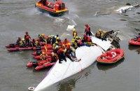 У Тайвані опублікували останні слова пілота літака, який розбився в Тайбеї