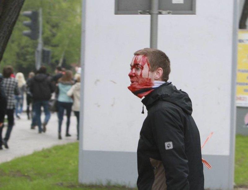 Останній проукраїнський мітинг у Донецьку пройшов 28 квітня 2014