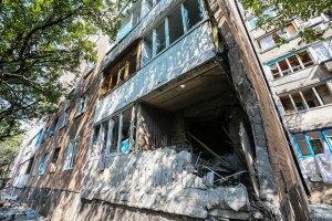Бойовики обстріляли Донецьк: 15 будинків зруйновано