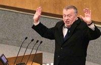 ЛДПР выдвинула Жириновского кандидатом в президенты