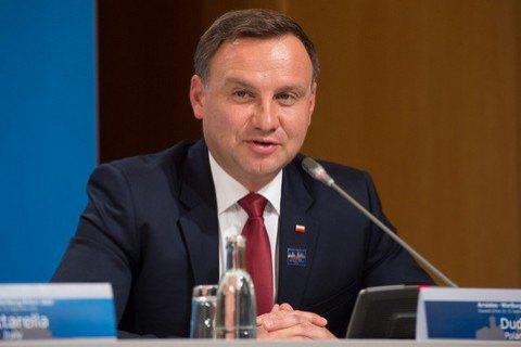 Президент Польши посетит Украину в декабре
