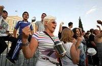 На всеобщую забастовку в Афинах вышло более 10 тысяч человек