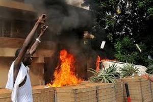 США отправили в Судан морских пехотинцев для защиты посольства