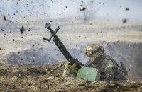 Бойовики на Донбасі від початку дня сім разів обстріляли позиції українських військових