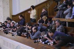 Прессу в Раде не будут отгораживать стеклом