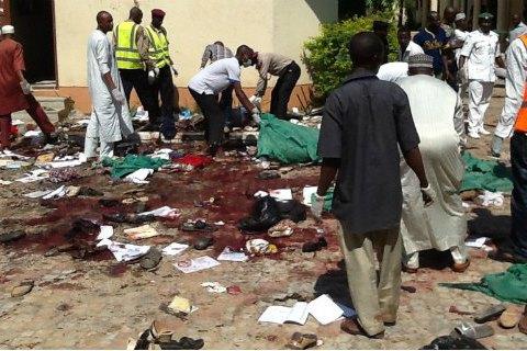 В Нигерии две смертницы подорвали себя возле лагеря вынужденных переселенцев: 16 жертв
