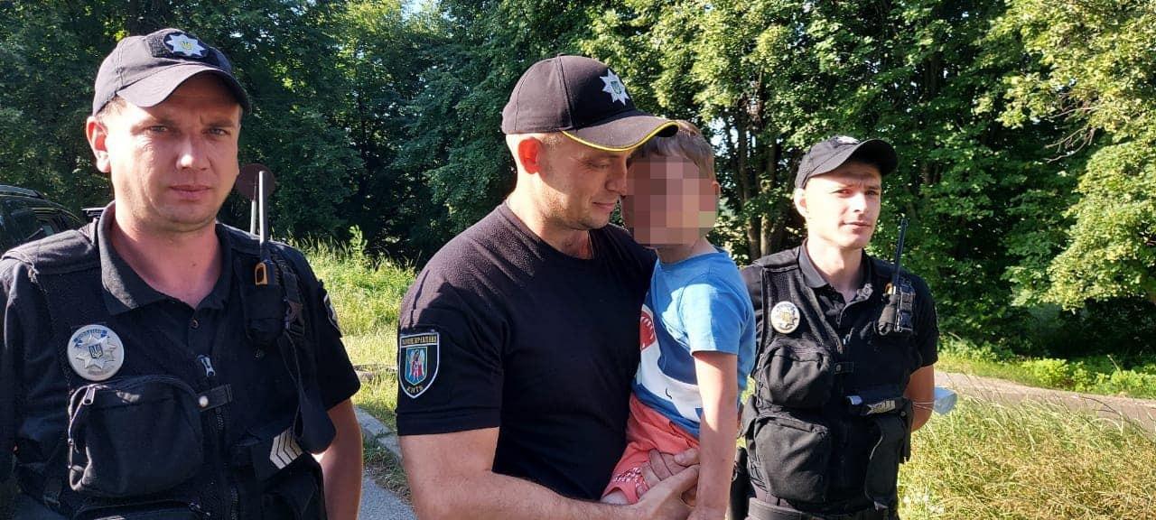 Поліція розшукала трирічного хлопчика