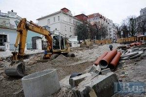 За реконструкцией Андреевского теперь можно следить онлайн