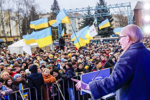 Тарифи, Супрун та еміграція. Про що Тимошенко говорить з виборцями