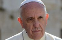 Папа Франциск заявил, что мир находится в состоянии войны