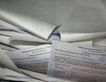 В двух областях нетрезвые избиратели порвали свои бюллетени для голосования