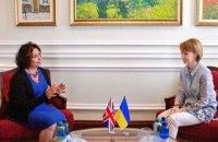 Новий посол Великобританії в Україні розпочала працювати