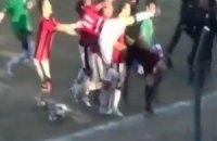 Парагвайского рефери избили во время игры