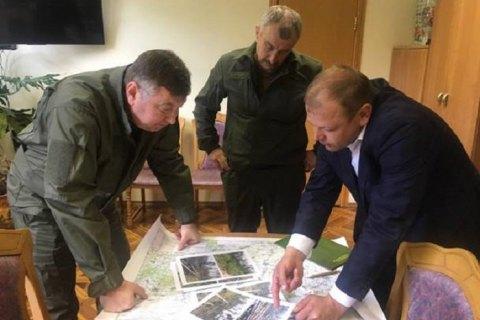 Гослесагентство просить объявить ЧС в Житомирской области из-за поваленных смерчем деревьев