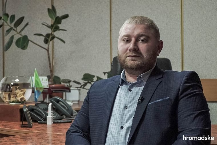 Начальник Кагарлицької поліції Вадим Бандура