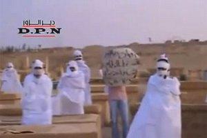 Сирийские зомби выступили против президента Асада