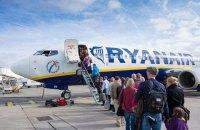 """Пятничный рейс Ryanair """"Киев-Варшава"""" будет летать дважды в сутки"""