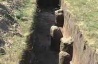 В Крыму при прокладке газопровода разрушили памятник времен Александра Македонского
