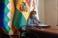 Тимчасова президентка Болівії заразилася коронавірусом