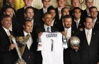 Обама подшутил над Бэкхемом