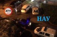 В Киеве возле общежития НАУ произошла драка со стрельбой