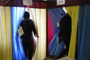 ЦВК підрахувала явку виборців у 36 округах