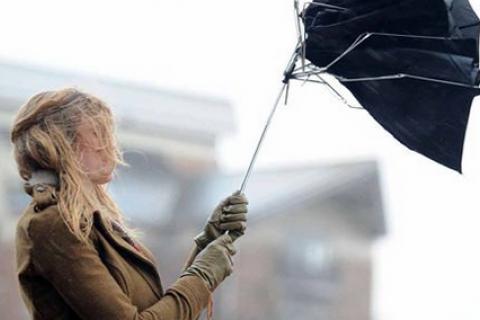 В воскресенье в большинстве регионов Украины прогнозируют шквалы