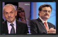 ТВ: Табачник, Азаров и газ