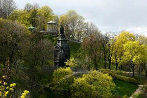 На Володимирській гірці в Києві побудують музей і апартаменти