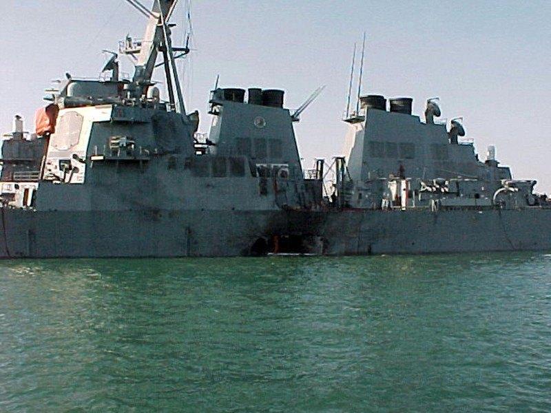 Последствия атаки на USS Cole