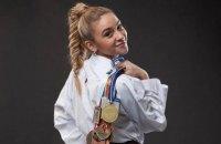 Лучшей спортсменкой Украины в мае признана каратистка