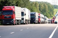 Украина разрешила проезд грузовикам до 40 тонн