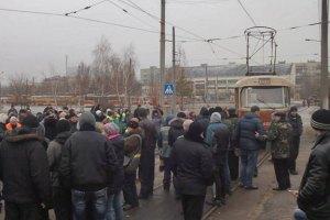 КМДА знайшла 27 млн гривень для трамвайників-страйкарів