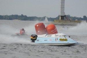 Гонки F1 на воде прошли в Вышгороде