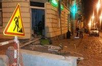 Во Львове взорвали банкомат Приватбанка