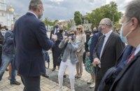 Кличко зустрівся з головою Представництва ЄС на церемонії відкриття Дня Європи в Україні