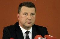 Президент Латвии посетит Украину по пути в Азербайджан