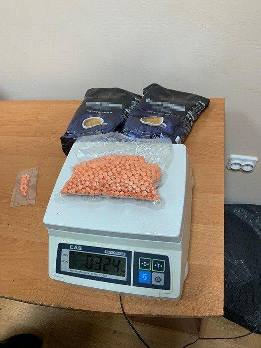 Изъятые наркотики в таблетках