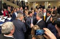 """Порошенко из Мюнхена: отсутствие у нынешней власти стратегии по Донбассу означает, что альтернативы """"Минску"""" нет"""