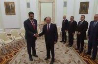 Путін запевнив президента Венесуели в підтримці і пообіцяв йому допомогу