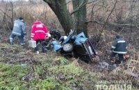 На Житомирщині у ДТП загинуло троє чоловіків