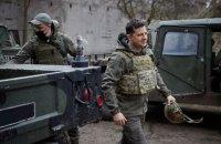 Зеленский: Украина не пойдет в наступление на Донбассе, и защита России там не нужна