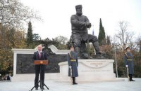 Путин открыл в оккупированной Ялте памятник царю Александру III
